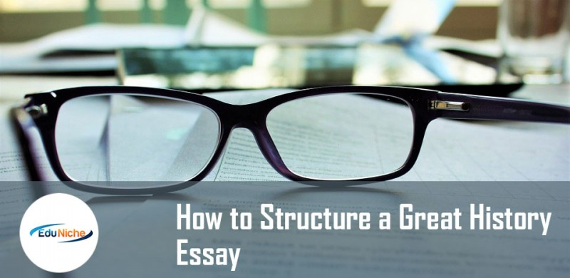 How do you structure an AS history essay question?